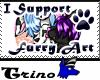 I support Furry Art (W)