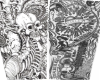 Bones and Biker Sleeves