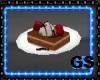 Coffee Cake Round Plate