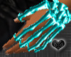 *Bone Aqua Hand Jewel L