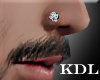 Diamond Nose Stud R