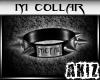 ]Akiz[ Metal Collar M.