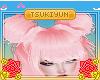 Aya Bangs Pink