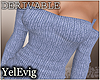 [Y] Sweater blue drv