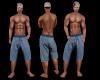 Jay Blue Plaid Shorts