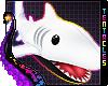 🦈 Shark Plush | White
