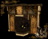 Medieval Goth Fireplace
