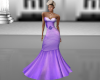 Purple Fishtail Gown