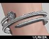 Silver Nail Bracelets R