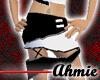 Shaluah Skirt Wh/Blk