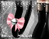 .M. PVC Kitten Tail Pink