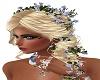 Haare mit Blumen