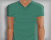 Vneck - Beach Green