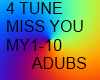 MISS YOU DUB