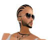 (JAZ) short braids black