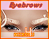 ! Blonde Female Eyebrows