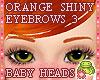 ! EYEBROWS 3 Orange Shin