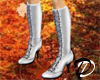 Knee boots (white)