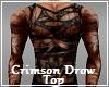 Crimson Drow Top