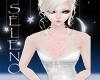 {Sel} Pink Rose Necklace