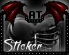 -A- Caged Heart Sticker
