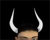 CW white horns