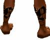 kp leg tattoo