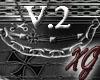 -XG-Iron Cross Mitten V2