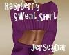 Raspberry Sweat Shirt