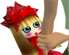 (IKY2) DOLL IN RED
