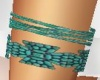 Upper Right Arm Turquois