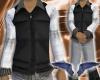 Black vest & W/B Polo