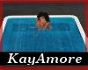 {KA} White Grey Hot Tub