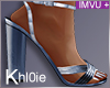 K blue heels  +