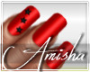 AMI|Elsa Red Nails