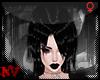 ✚Goth Elle Black-Hair
