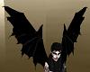 Black Vamp Wings