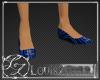 [LZ] Blue Flat Shoes