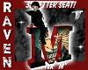 RETRO LETTER M SEAT!