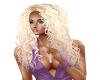 Hair Ash Blond Lizzy 597