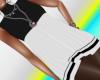 Eriana-Winter Dress B&W