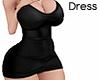 [Alu] Busty Dress Black