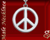 *Silver Peace Pendant M