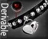 -V- Locked Heart Collar