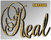 Custom Sign Real Gold