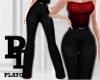 PT - POEM BLACK PANTS