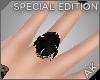 ~AK~ Royal Ring: Onyx