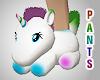 Unicorn Slippers 4 Pants