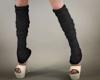 Large Black Socks