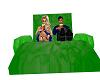 green lounge float